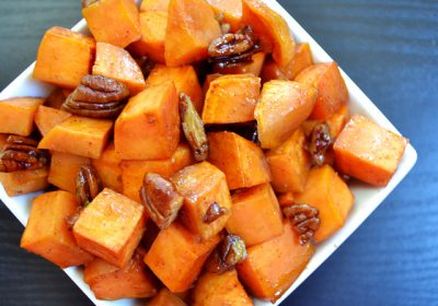 Maple-Baked Sweet Potato