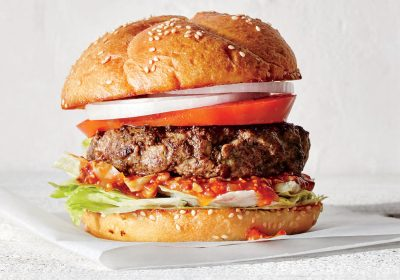 Classic American Grilled Burger