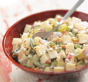 Crunchy Waldorf Salad With Blue Cheese