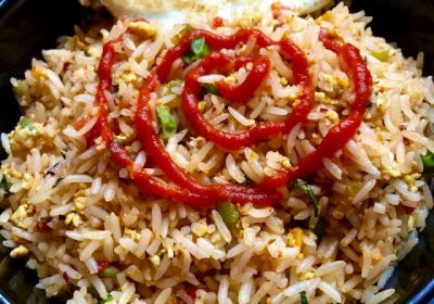 Oriental Egg Fried Rice
